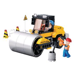 Building Blocks Town Serie Road Roller