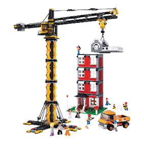 Building Blocks Town Serie Tower Crane