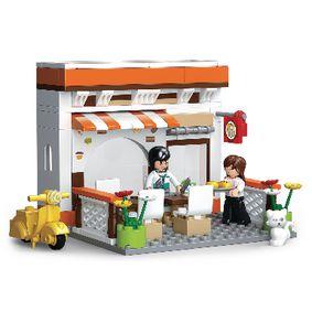 Building Blocks Town Serie Restaurant