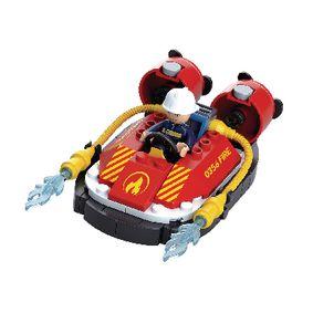 Building Blocks Fire Serie Hovercraft