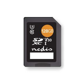 Memory Card | SDXC | 128 GB | Writing up to 80 Mbps | Class 10
