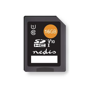 Memory Card | SDHC | 16 GB | Writing up to 80 Mbps | Class 10