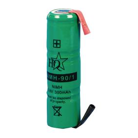 Batterijpack NiMH 3.6 V 300 mAh