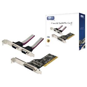 Sweex 2 Seriële & Parallelle Poort Kaart PCI