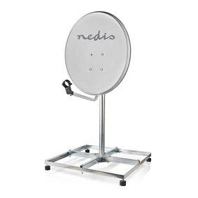 Satellite Balcony Stand | Mast length: 1.00 m | Maximum dish size: 90.0 cm | Bottom plate size: 4 x
