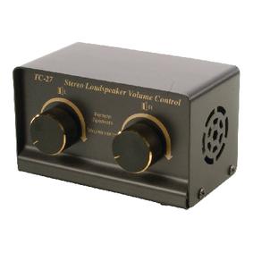 Stereo luidspreker volumeregelaar