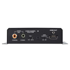 HDMI HDBaseT Receiver W/Audio De-embedding