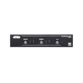 2 x 2-Port HDMI Matrix Switch black