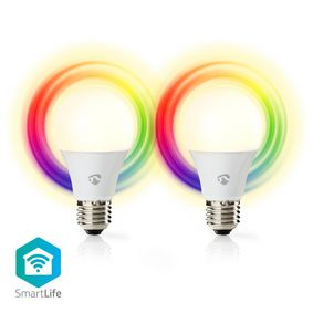 SmartLife Full Colour LED Bulb | Wi-Fi | E27 | 470 lm | 6 W | RGB / Warm White | 2700 K | AndroidT &