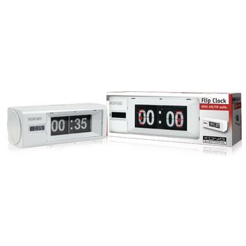 hav cr26wh fm digital flip clock radio with analogue. Black Bedroom Furniture Sets. Home Design Ideas