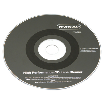 Profigold PROC262 High Performance CD Lens Cleaner