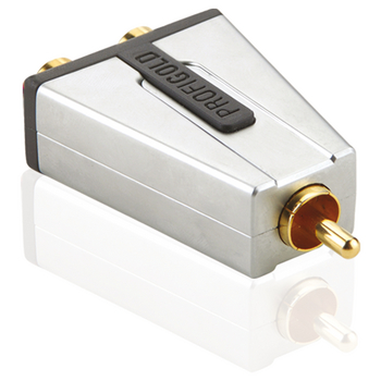 Profigold PROD124 High Performance RCA Splitter
