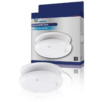 hq optical rf smoke alarm sec sa301rf wireless interconnectable ebay. Black Bedroom Furniture Sets. Home Design Ideas