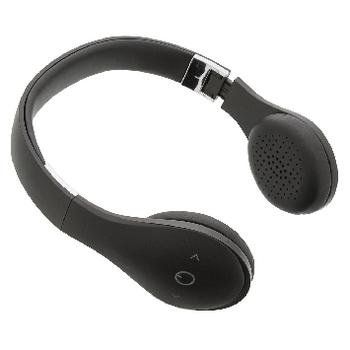 headset am ohr bluetooth integriertes mikrofon schwarz sweex. Black Bedroom Furniture Sets. Home Design Ideas