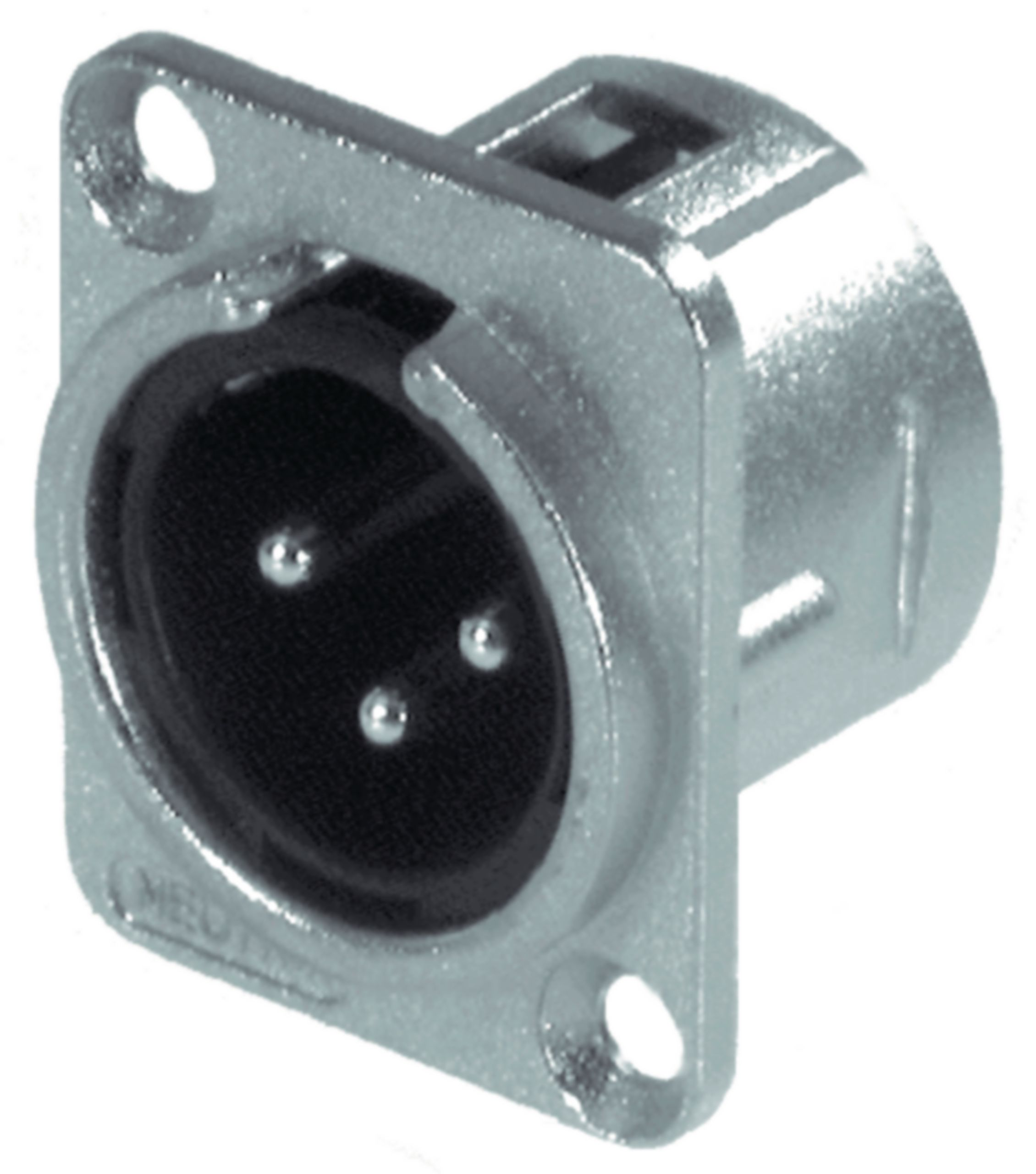 NTR-NC3MD-L-1 - Neutrik - XLR Panel-mount male 3 Panel-mount male ...