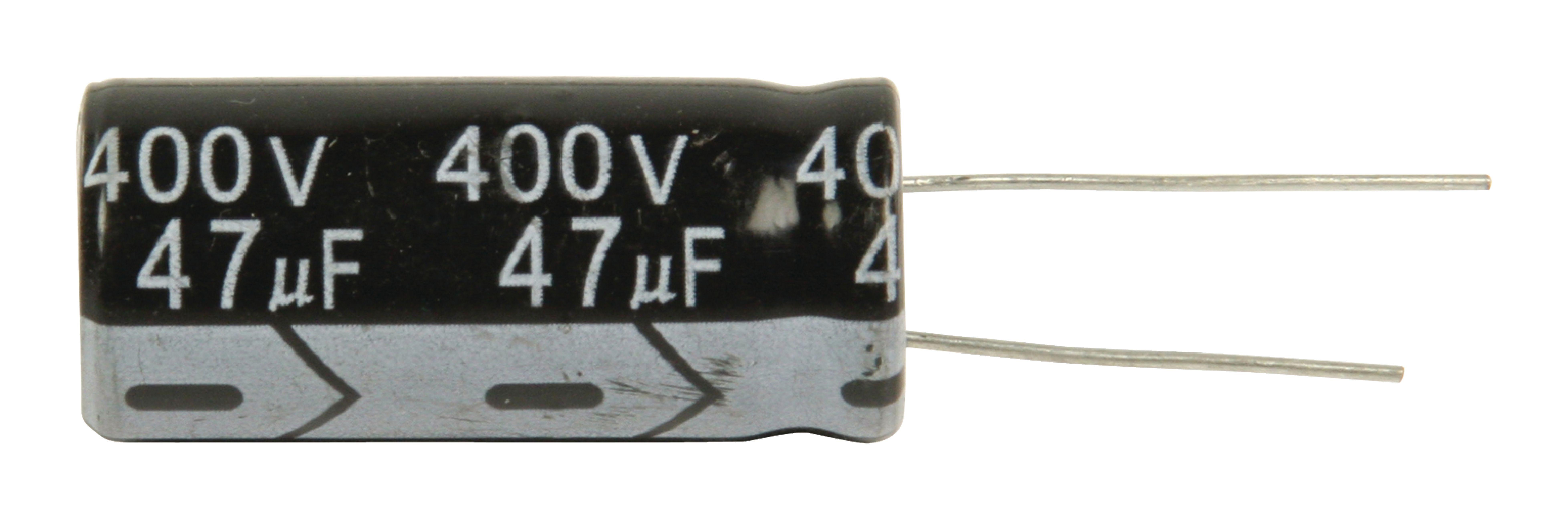47 400pht Fixapart Electrolytic Capacitor 47 Uf 400