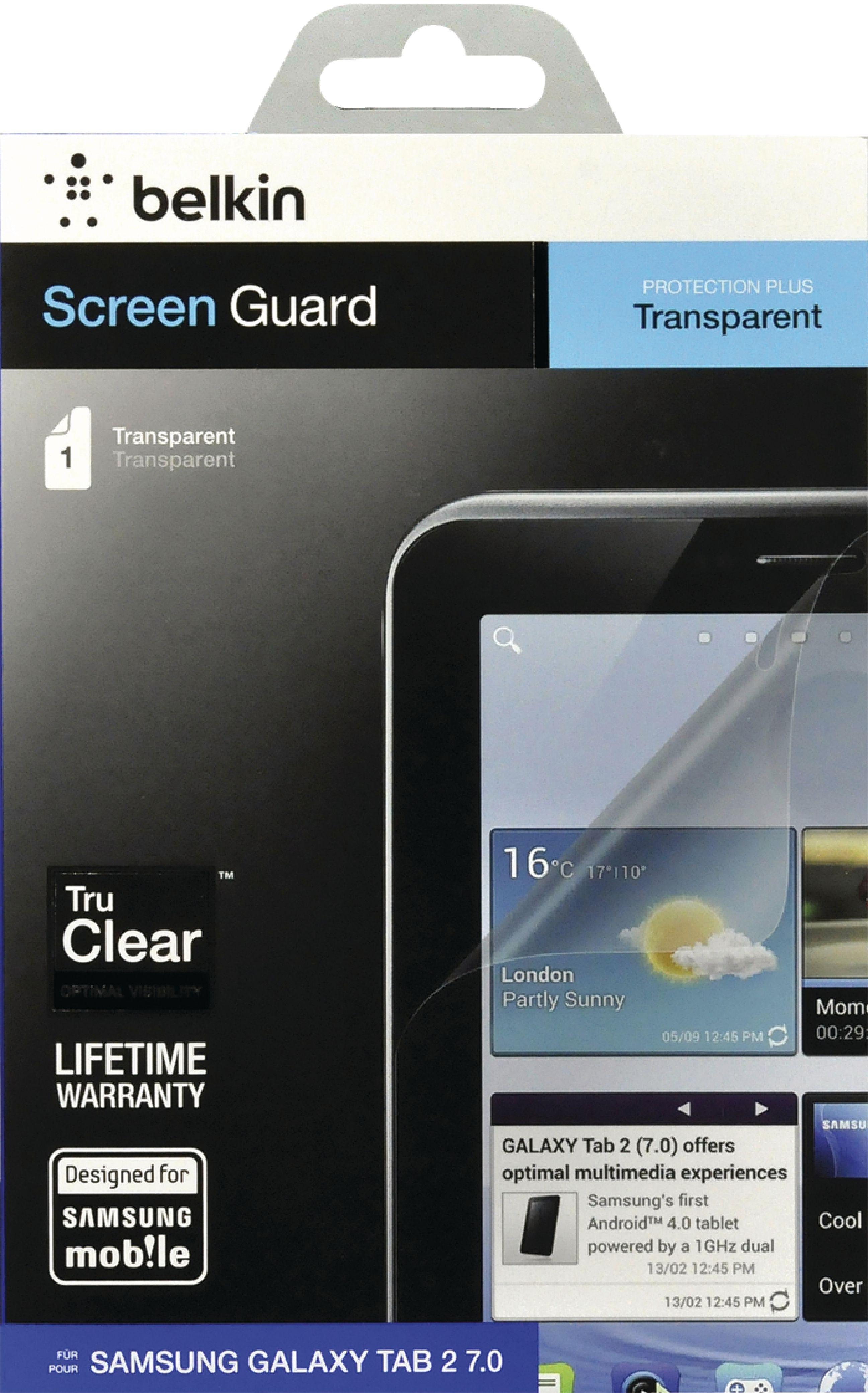 ACCBEL00992B - Belkin - Ultra-Clear Screen Protector Samsung