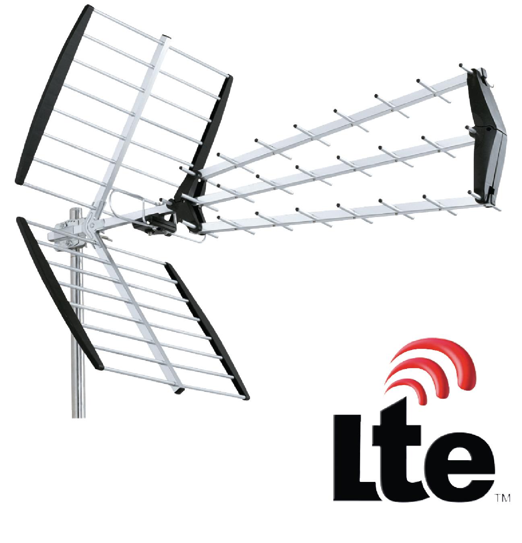 ant-uhf51l-kn - k u00f6nig - dvb-t  t2 outdoor antenna 15 db uhf