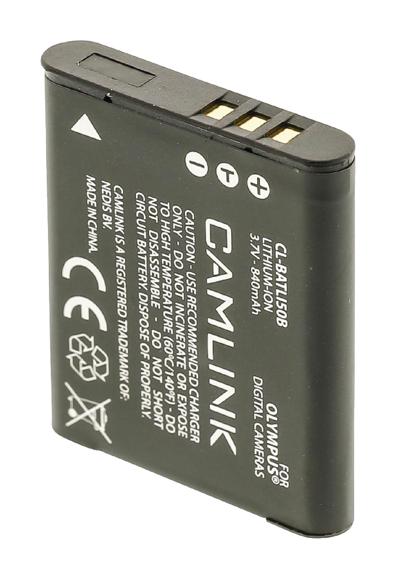 Lithium-Ionen Kameraakku 3.7 V 840 mAh