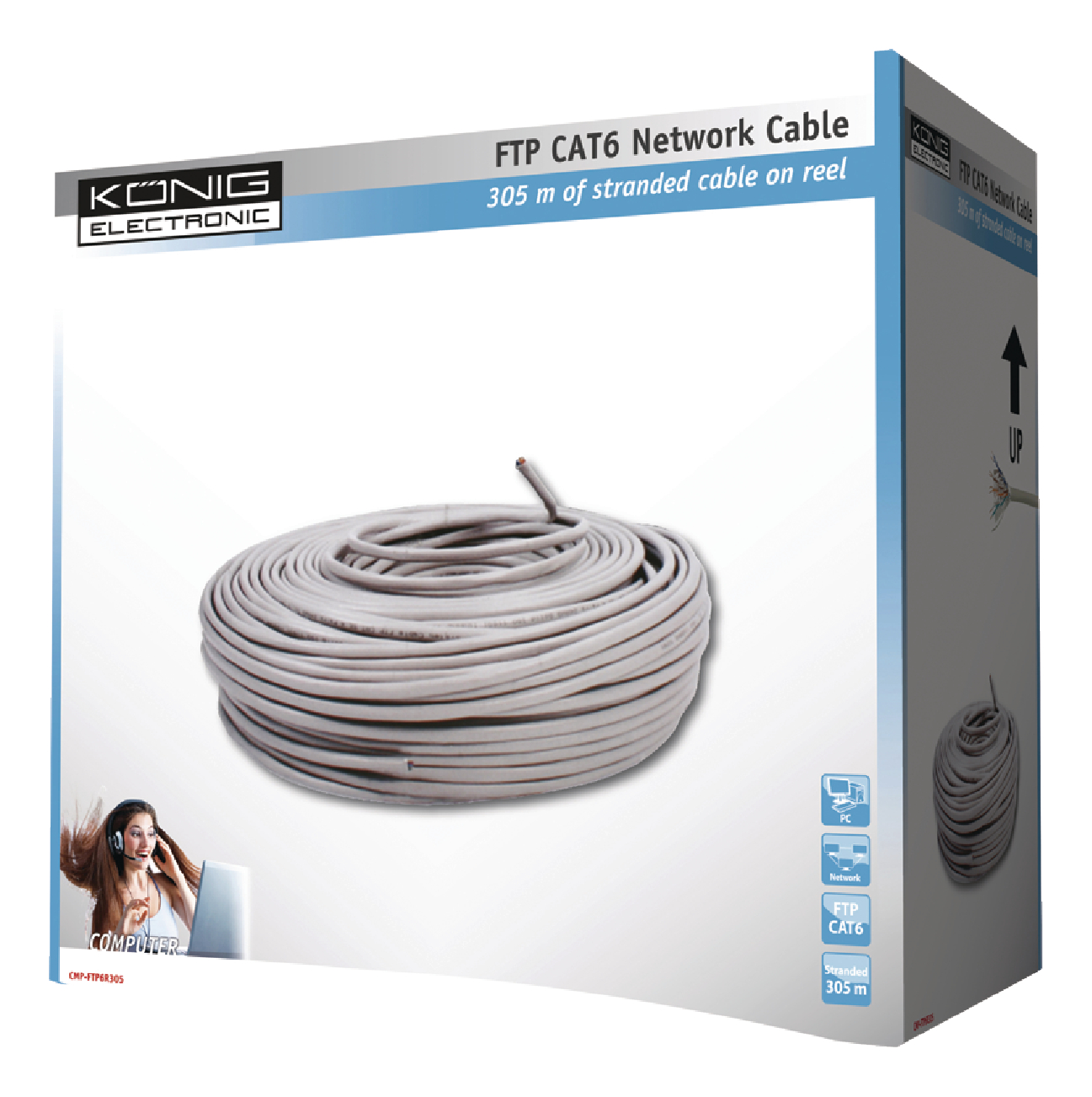 Cmp ftp6r305 knig network cable on reel cat6 futp 305 m grey cmp ftp6r305 knig network cable on reel cat6 futp 305 m sciox Choice Image