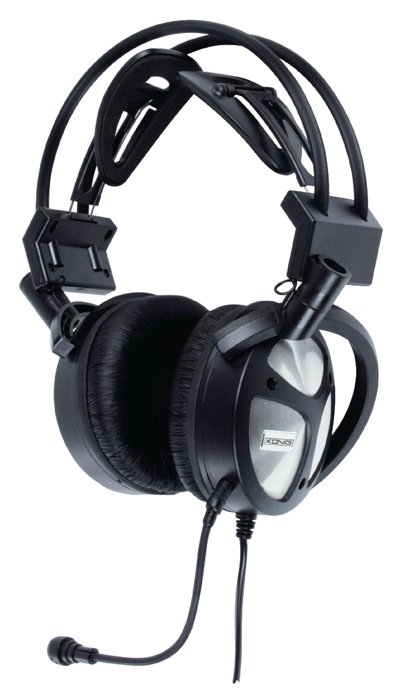 cmp headset170 k nig headset over ear usb built in. Black Bedroom Furniture Sets. Home Design Ideas
