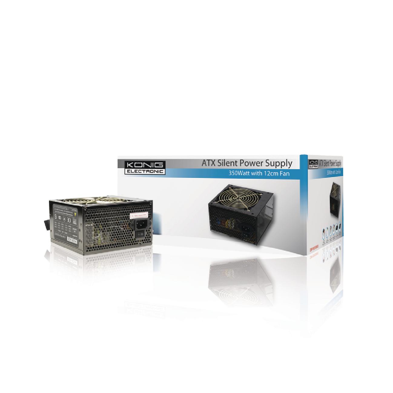 CMP-PSUP350W/S - König - PC Power Supply 350 W Stille Ventilator 12 ...