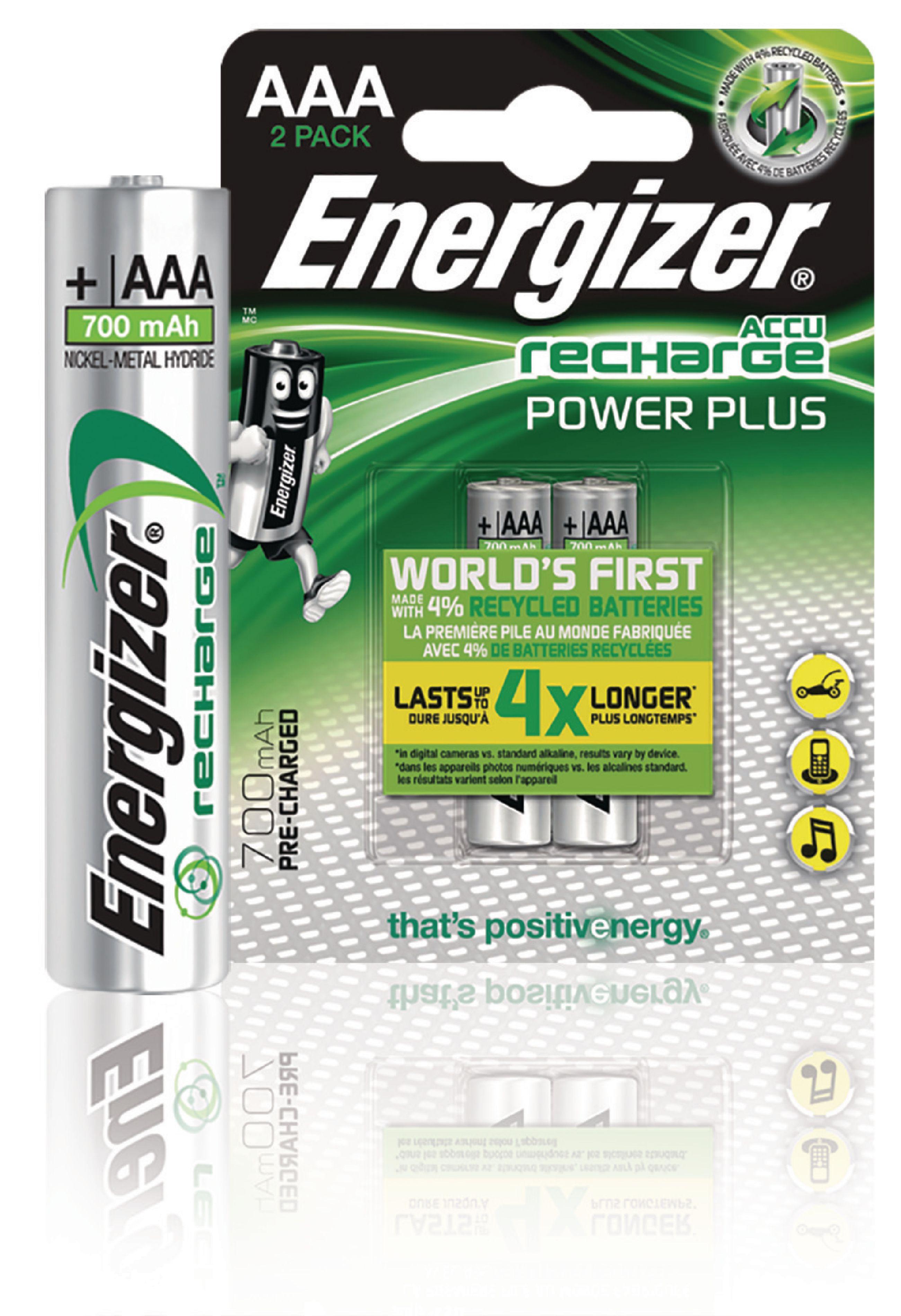 EN-PWRPL700B2 - Energizer - Rechargeable NiMH Battery AAA