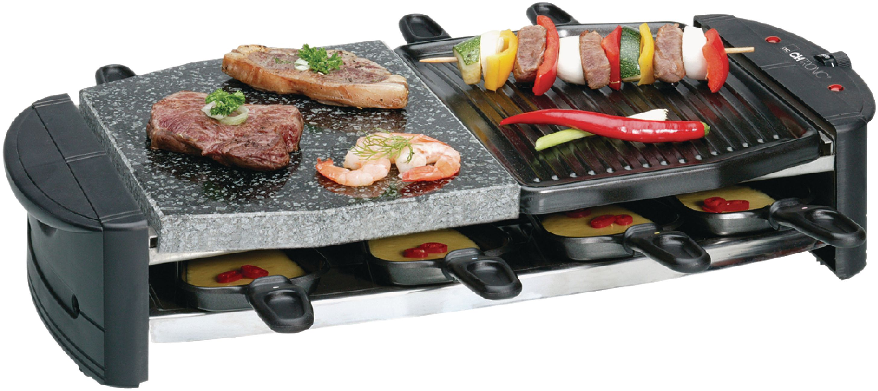 Ha Grill 16 Clatronic Raclette Grill Rg2892