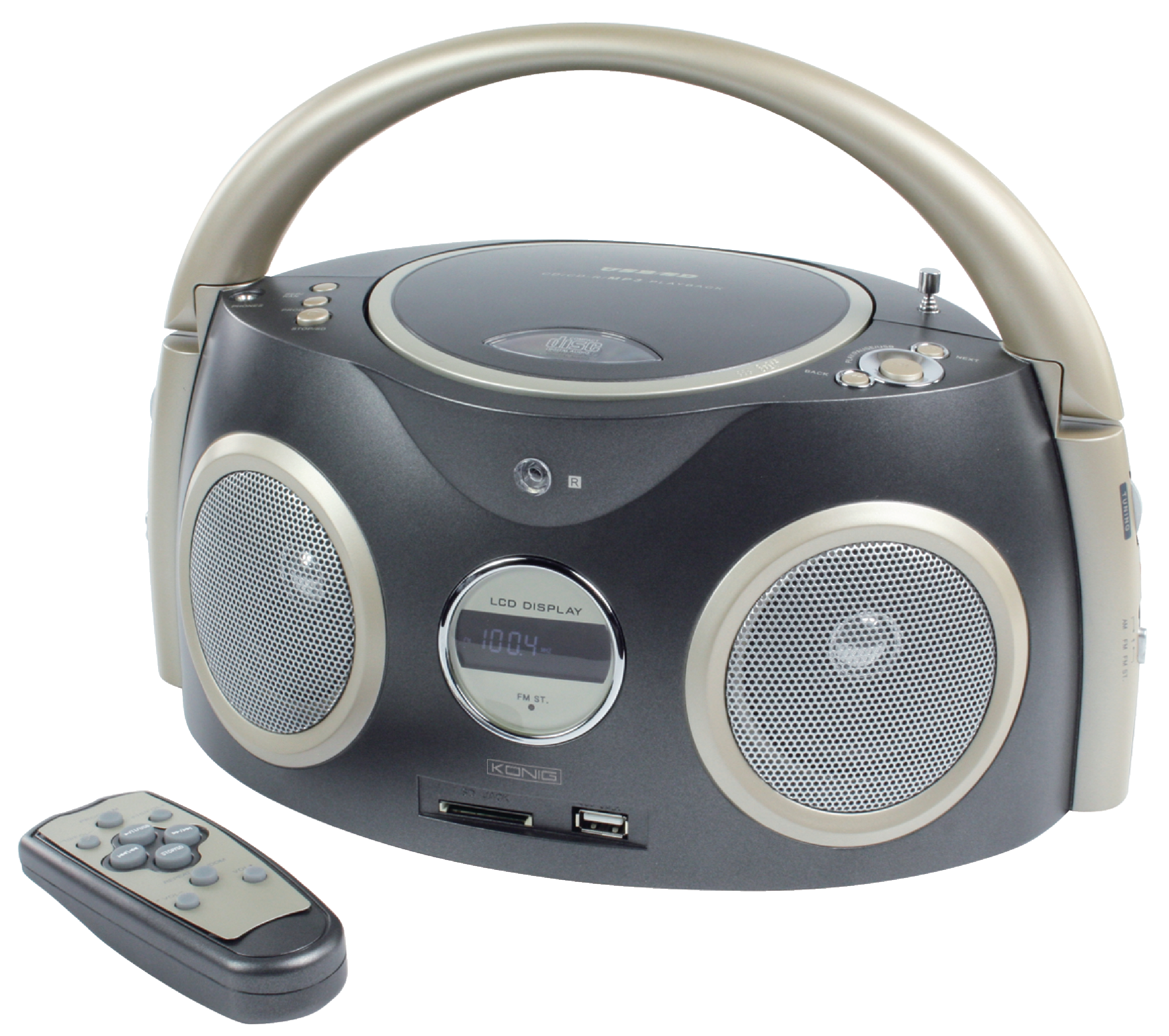 k nig ukw mw radio mit cd player usb sd slot und. Black Bedroom Furniture Sets. Home Design Ideas