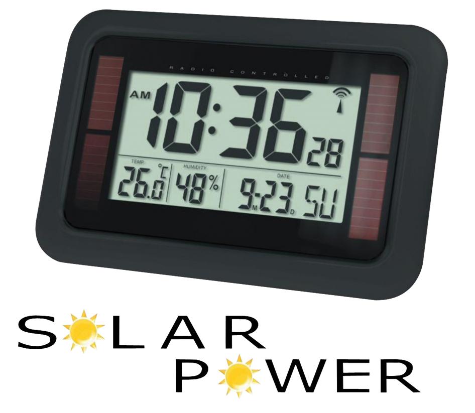 He Clock 84 Balance Radio Controlled Wall Clock