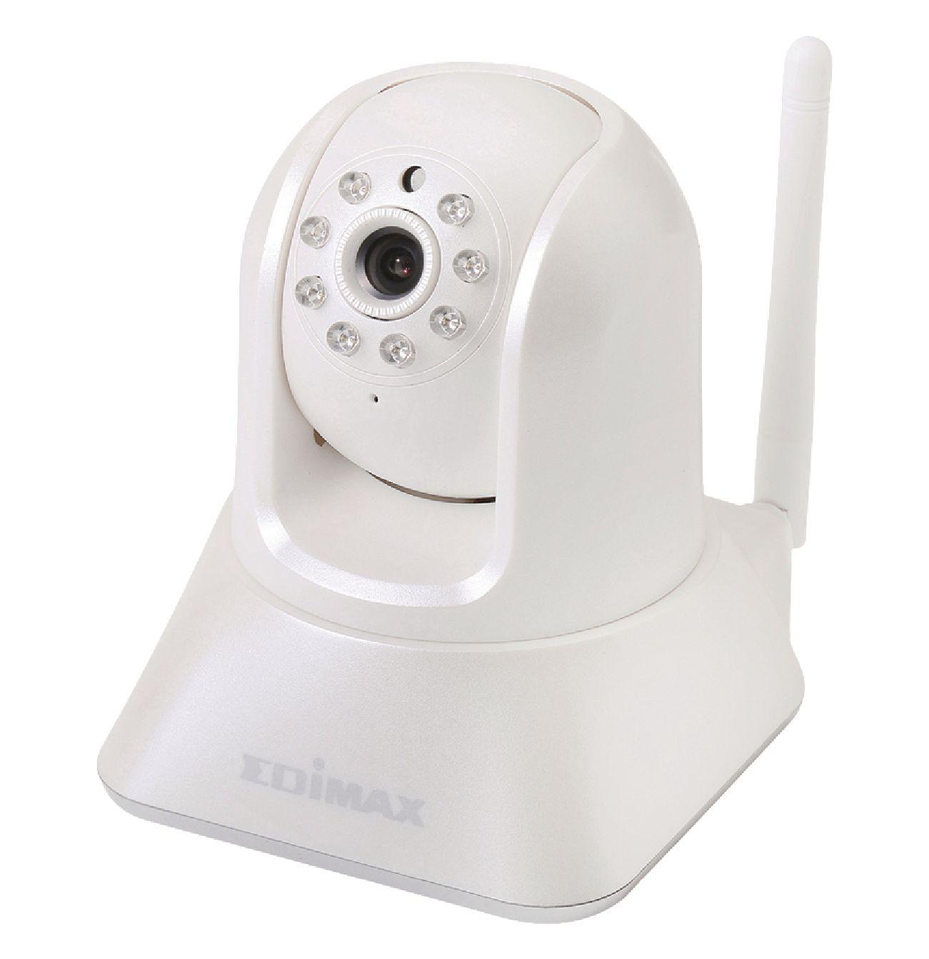 ic 7001w edimax cam ra de surveillance ip pan tilt int rieur 720x480 blanc electronic. Black Bedroom Furniture Sets. Home Design Ideas