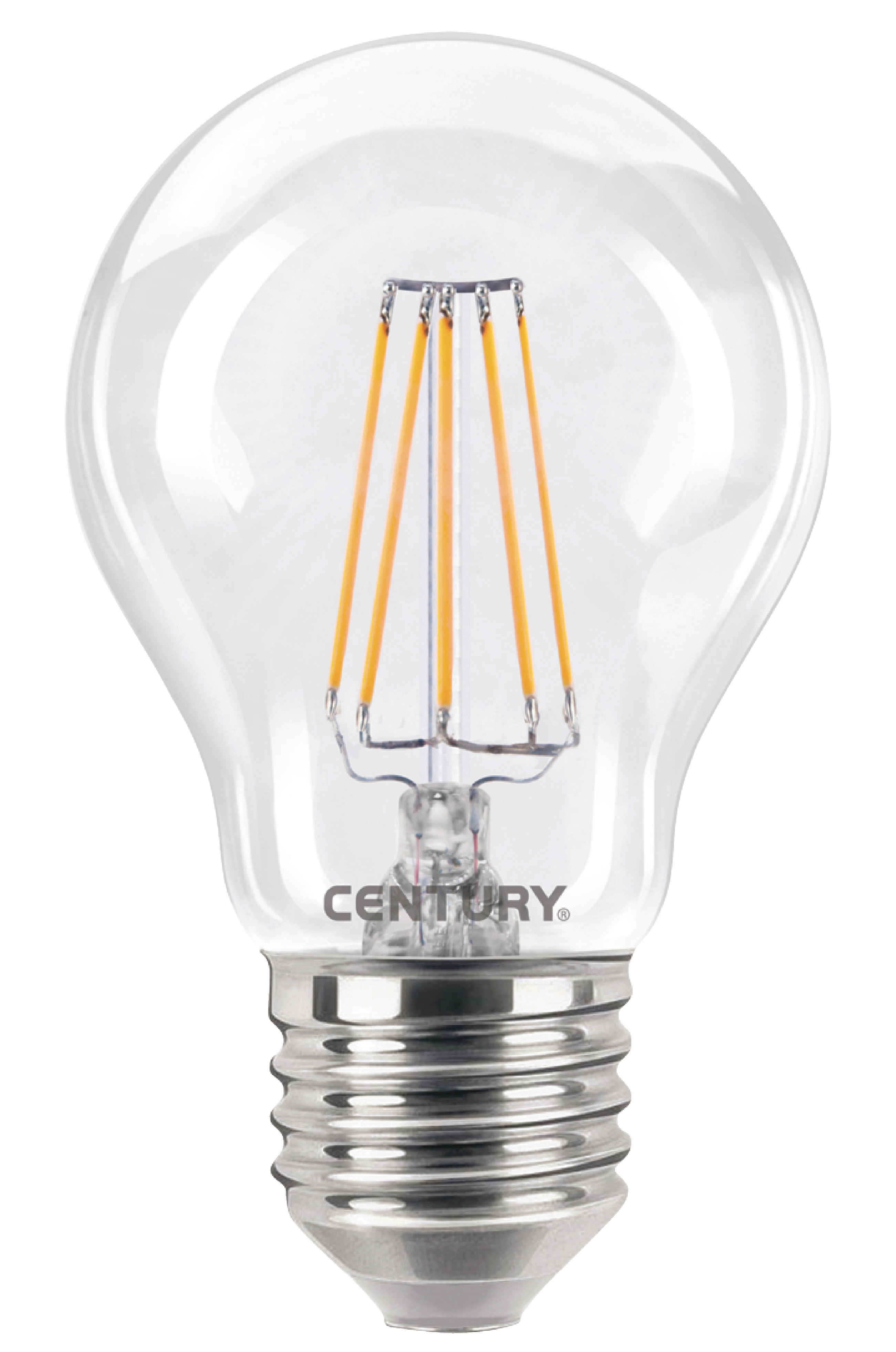 ing3 062727 century led retro filament lamp e27 globe 6 w 810 lm electronic. Black Bedroom Furniture Sets. Home Design Ideas