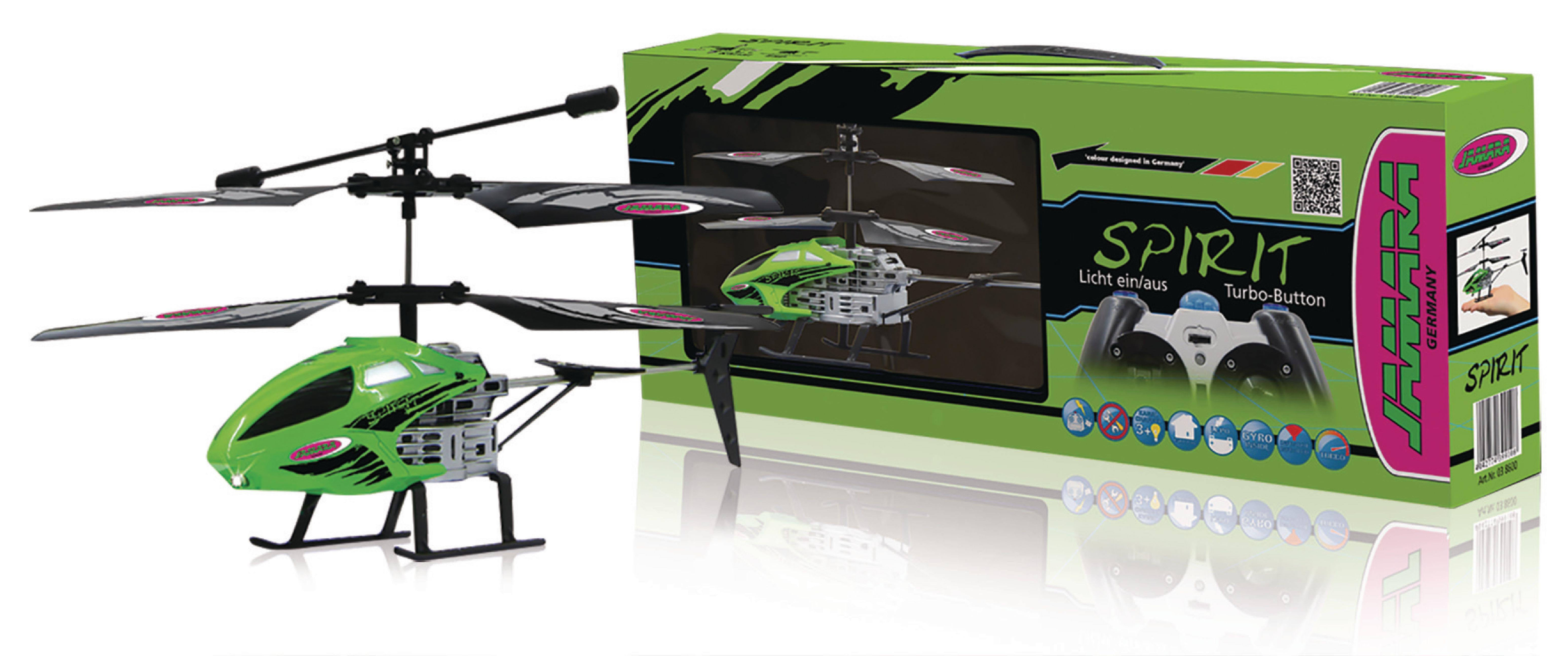 JAM-038600 - Jamara - R/C Helicopter Spirit 3+2 Channel ...