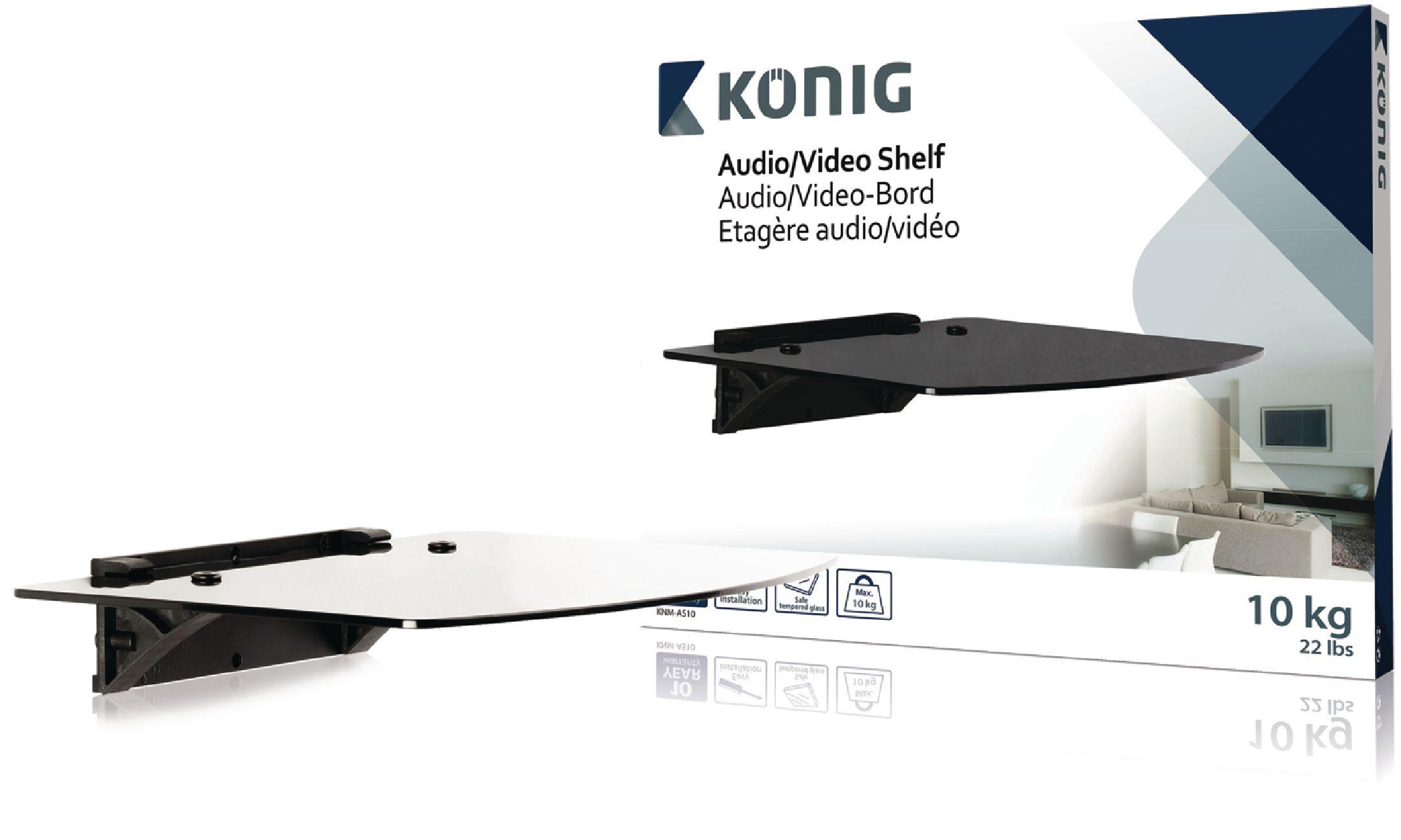 Knm As10 K Nig Tablette Pour Lecteur Dvd Bluray 400 X 311 5 X  # Etagere Murale Pour Lecteur Dvd