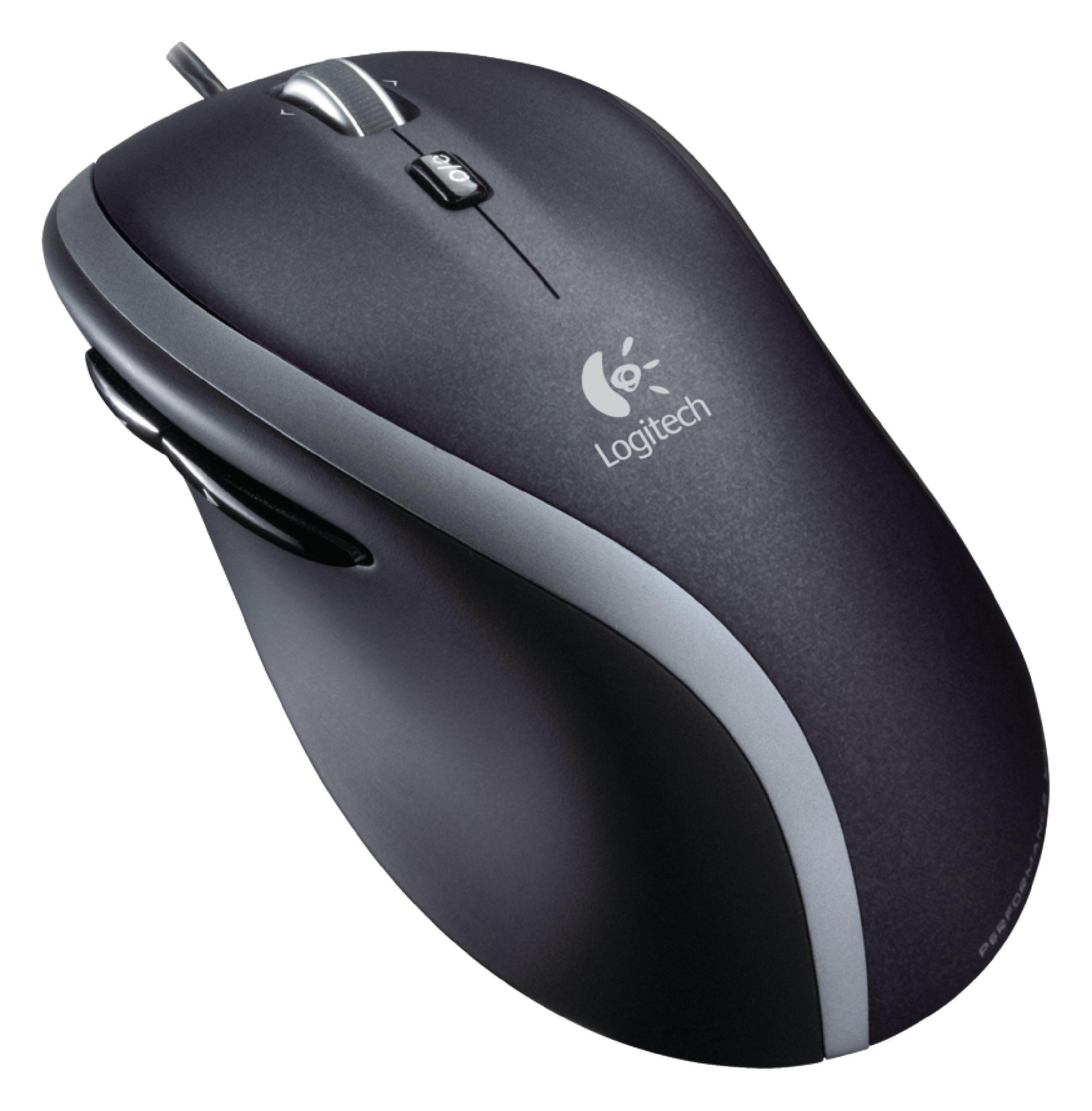 Lgt M500 Logitech Wired Mouse Desktop 5 Button Black