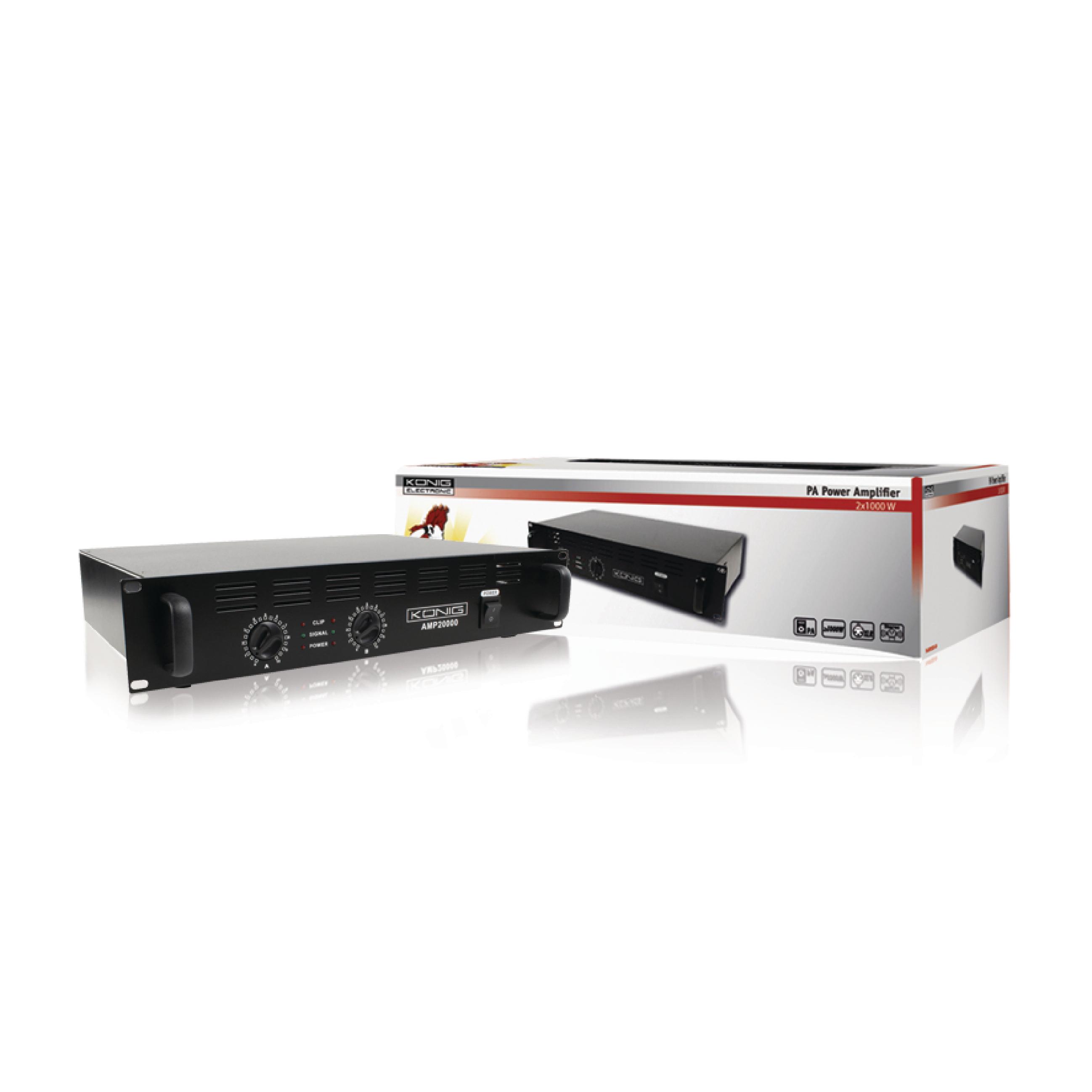 Pa Amp20000 Kn Knig Amplifier 2000 W Electronic Discountbe Power Watt