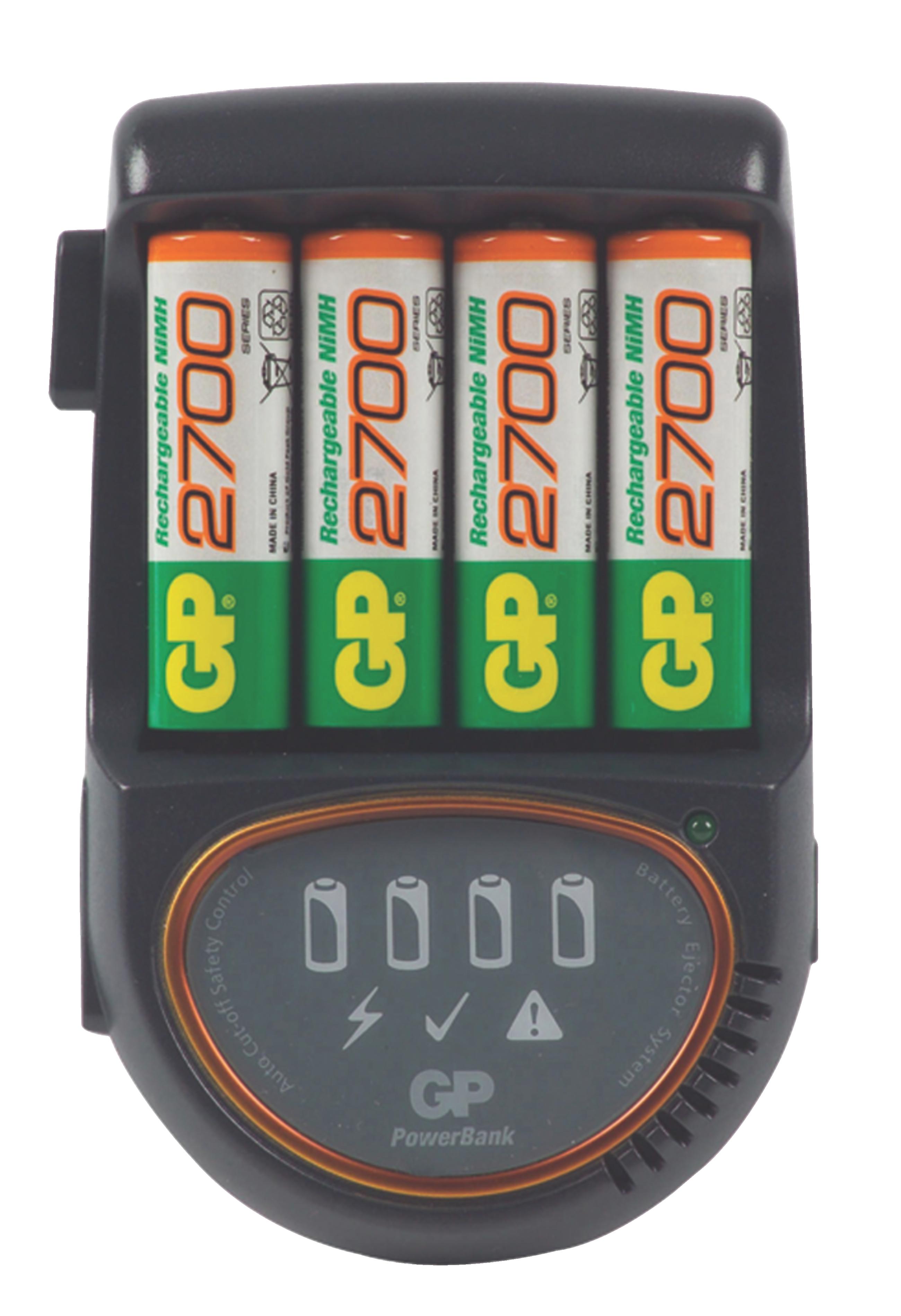 Pb H500 27 Gp Nimh Battery Charger Aa Aaa 4x Aa Hr6