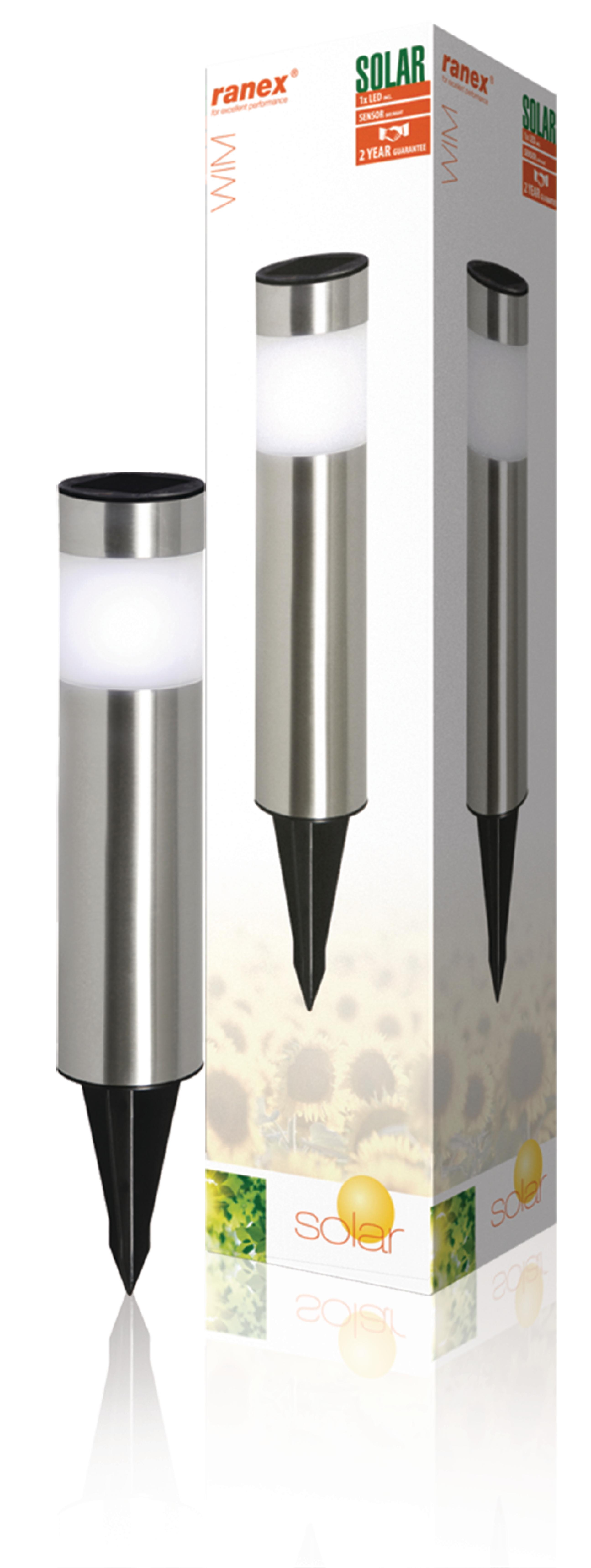 LED Solar Tuinlamp met Spies 1 LED 1