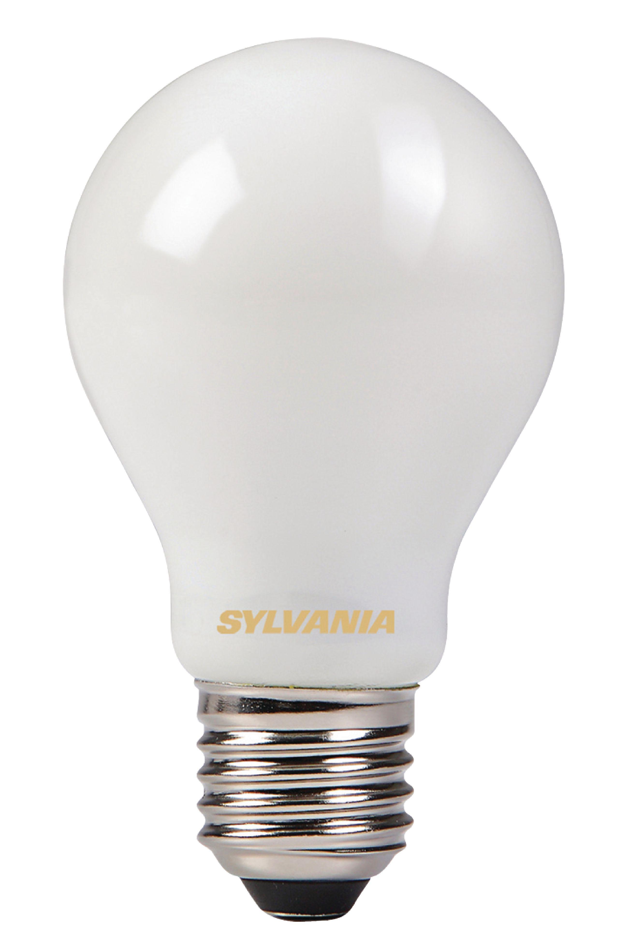 retro led lamppu hehkulanka a60 6w satin 806lm e27 syl 0027131 sylvania. Black Bedroom Furniture Sets. Home Design Ideas