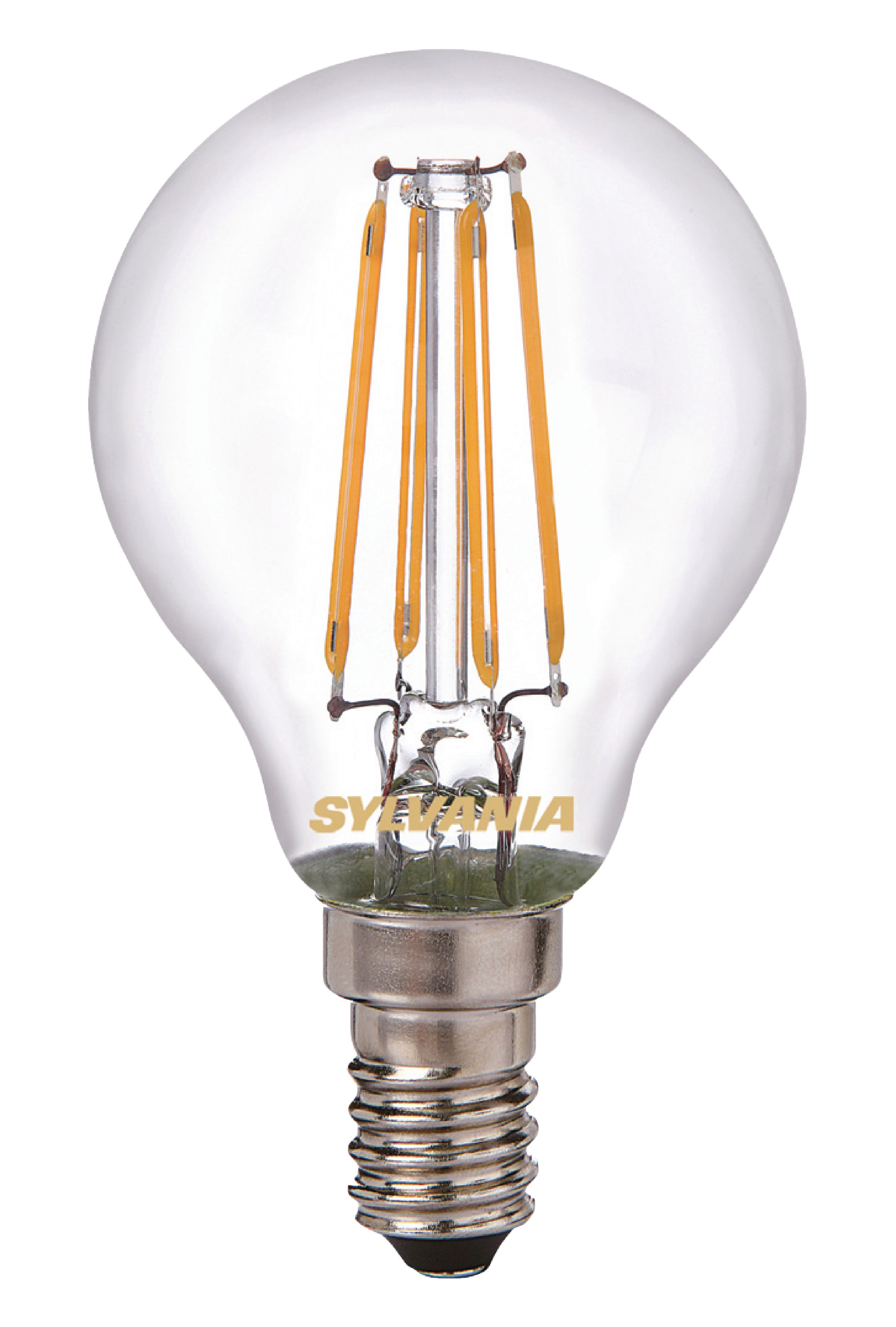 syl 0027246 sylvania led retro filament lamp e14 ball 4 w 420 lm 2700 k electronic. Black Bedroom Furniture Sets. Home Design Ideas