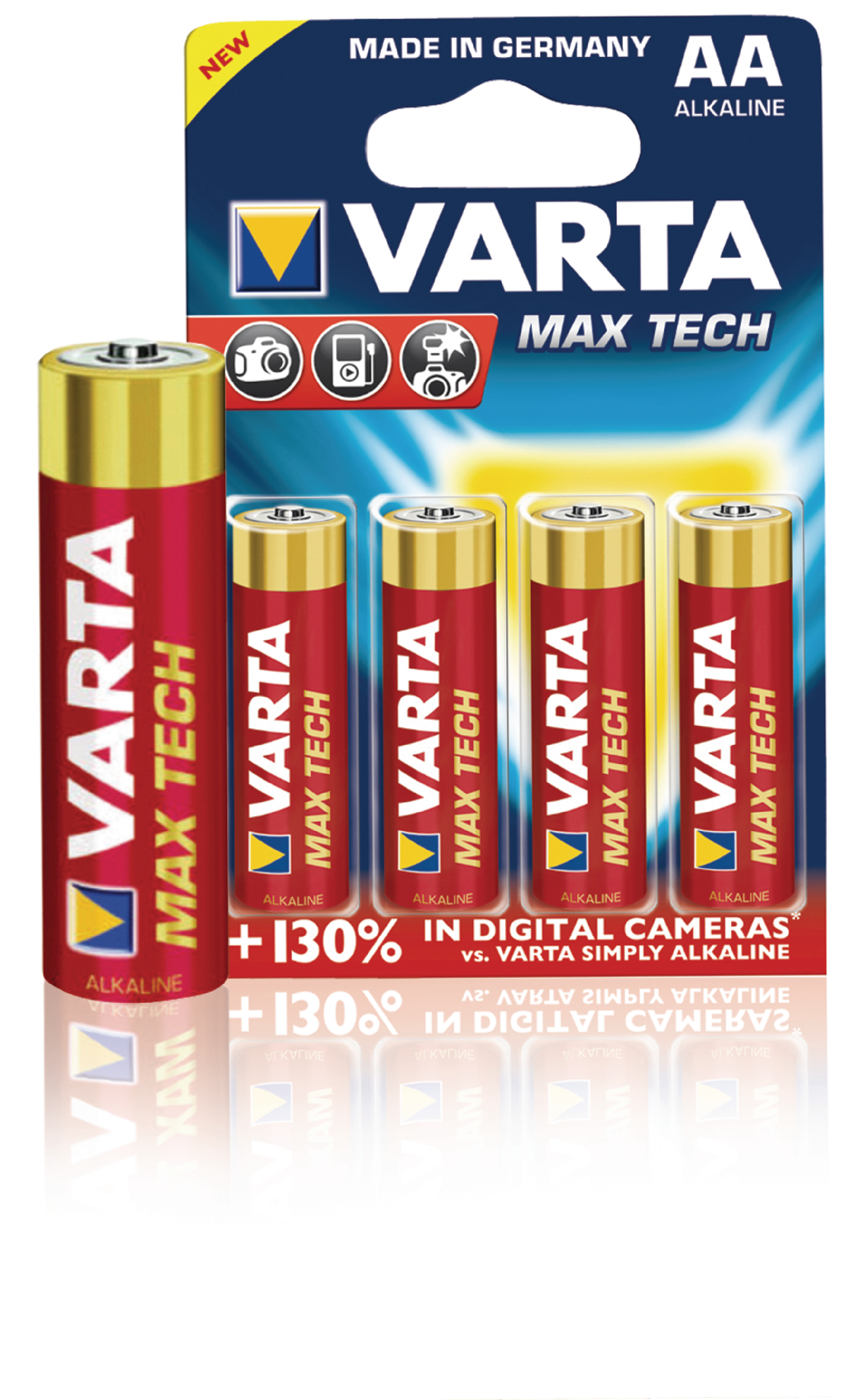 varta 4706 4b varta alkaline battery aa 1 5 v max tech. Black Bedroom Furniture Sets. Home Design Ideas
