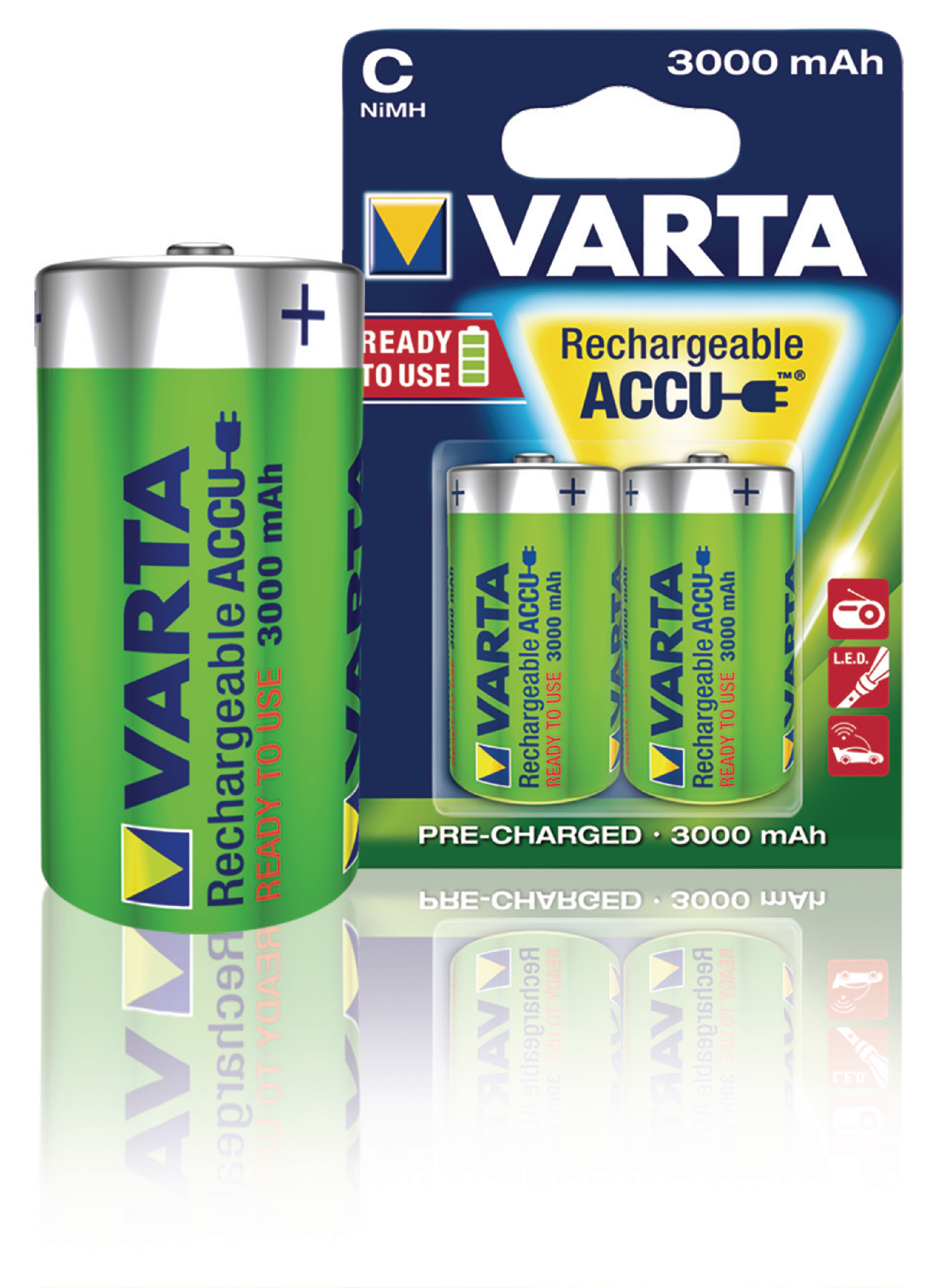 varta 56714b varta rechargeable nimh battery c 1 2 v. Black Bedroom Furniture Sets. Home Design Ideas