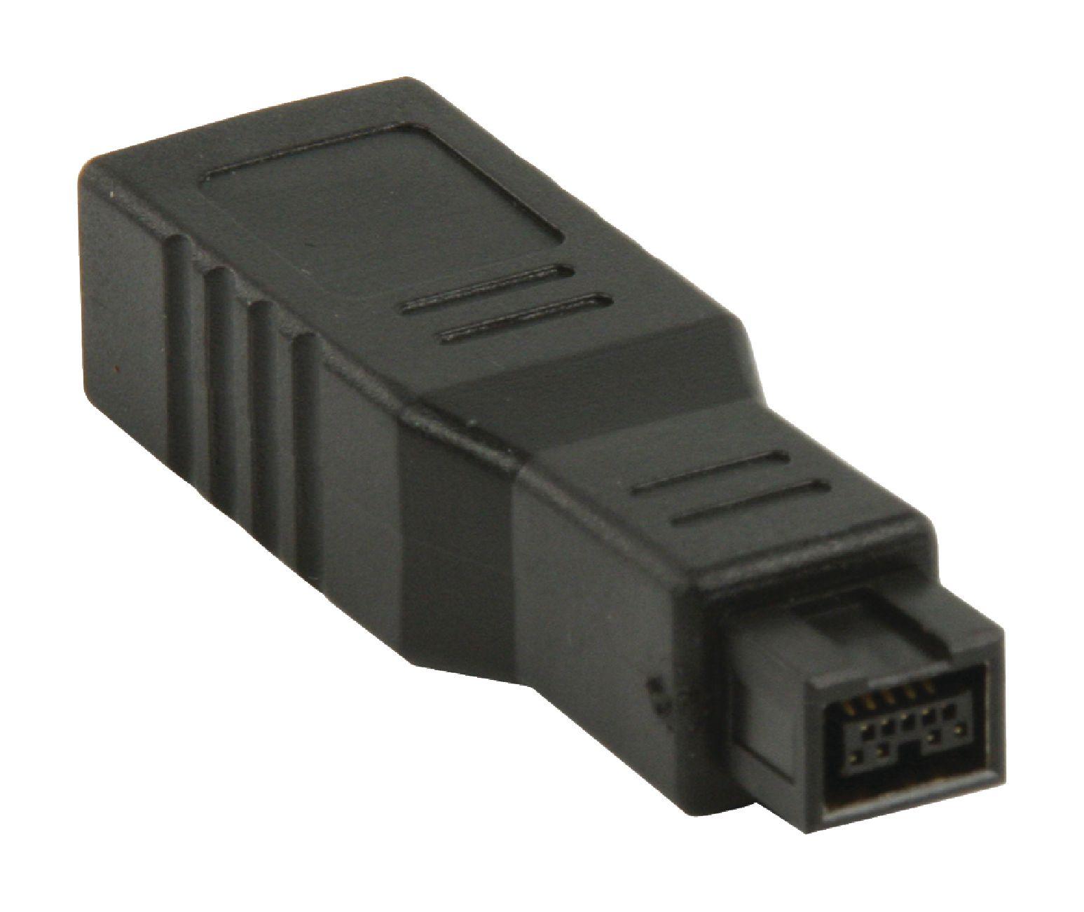 VLCP62905B - Valueline - FireWire 400 Adapter FireWire 9-Pin Male ...