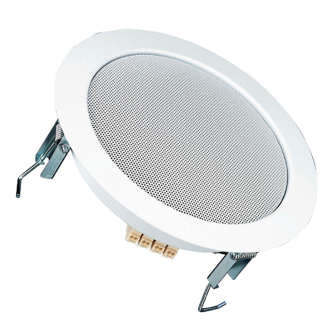 vs dl18 1 visaton haut parleur plafonnier hifi 17 cm 6 5 100 v ral9010 electronic. Black Bedroom Furniture Sets. Home Design Ideas