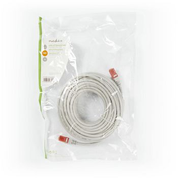 Networking Cables & Adapters Nedis Cat 6 Utp Network Cable Rj45 Male To Rj45 Male 15m Grey Ccgp85200gy150