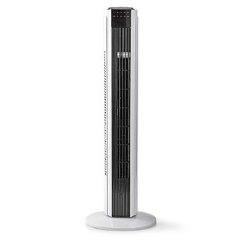 Remote Controlled Tower Fan | 3-Speeds | Oscillation Function