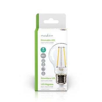 Dimmable LED Retro Filament Lamp E27 | A60 | 8.3 W | 806 Lm