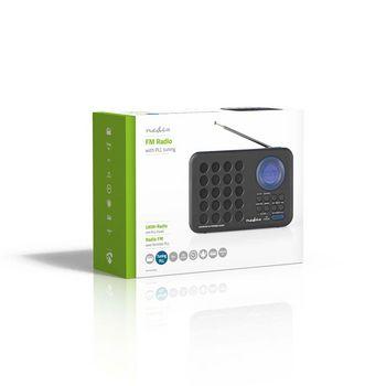 UKW-Radio | 3 W | Uhr und Alarm | USB-Anschluss und microSD ...