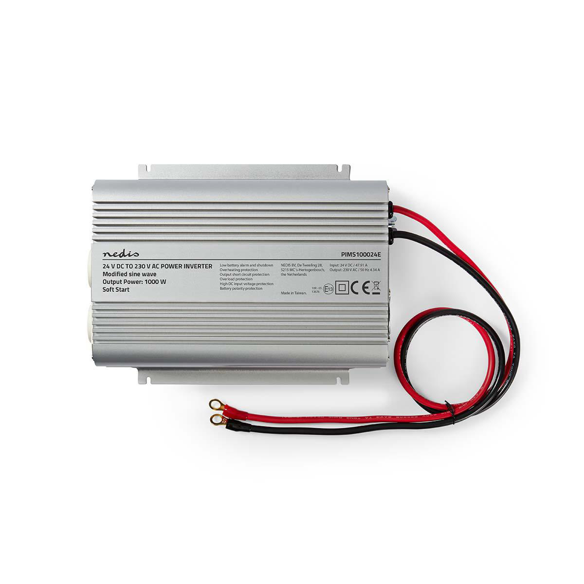 Power Inverter Modified Sine Wave | 24 V DC - 230 V AC