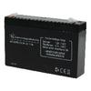 Zselés akkumulátor 6 V 7200 mAh 151 mm x 34 mm x 95 mm